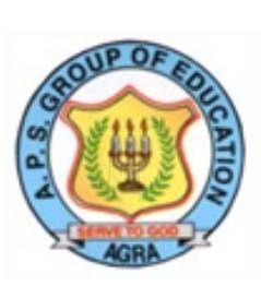 agra public school logo